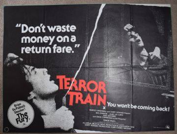 Terror Train Film Poster -  UK Quad